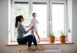 radiateur sous fenêtre