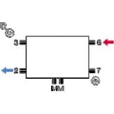 Superia Central - aansluitschema - schéma de raccordement